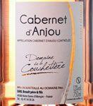 AOC Cabernet d'Anjou Domaine de la Couchetière Cuvée 2015