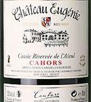 AOC Cahors Château Eugénie Cuvée de l'Aieül 2014